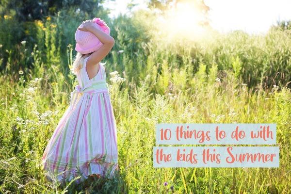 TB blog - summer activities